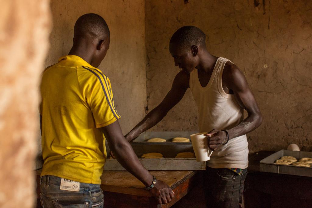 Rwanda boys bakery